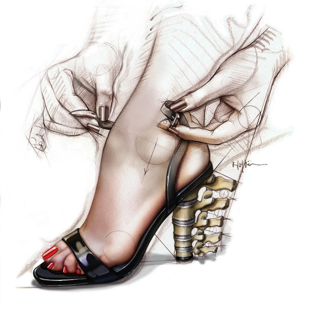 """""""Ходить на каблуках"""" - один из примеров синекдохи"""