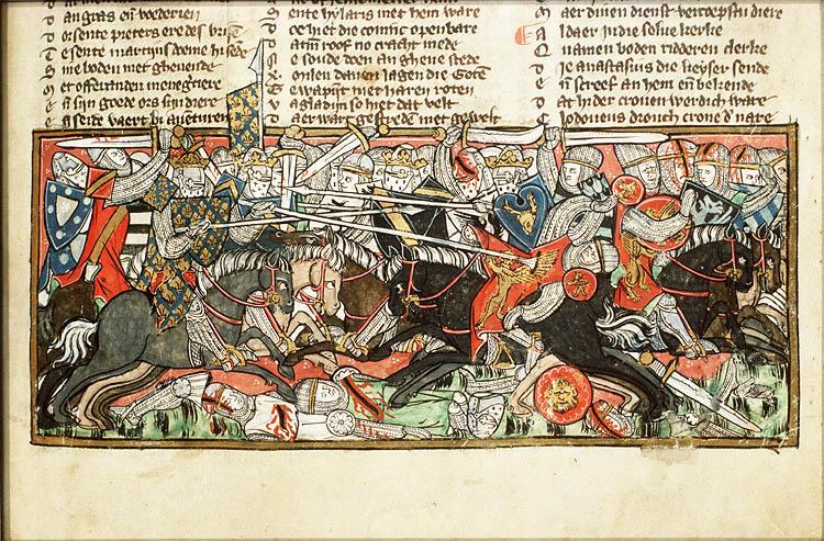 Битва франсксого государства за расширение территории