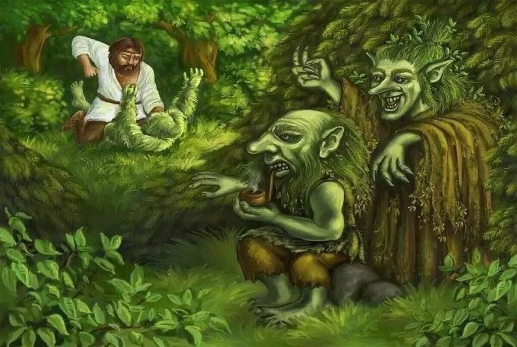 Лесовики не любят вторжения на их территорию